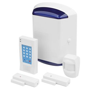 View Blyss White Interior Alarm Pack of 1 details