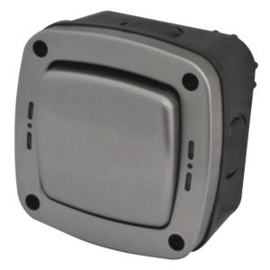 View Diall Waterproof 1-Gang 2-Way Outdoor Switch 20A details
