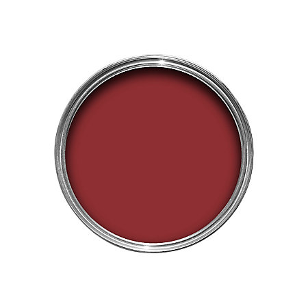 Colours exterior classic red gloss wood metal paint departments tradepoint - Exterior wood and metal paint set ...