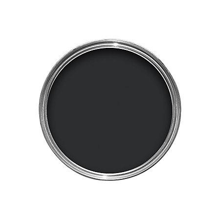 Colours Exterior Black Satin Wood Metal Paint 750ml Departments Diy At B Q