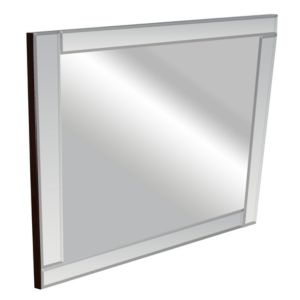 View Colours Art Deco Square Mirror (L)360mm (W) 360mm details