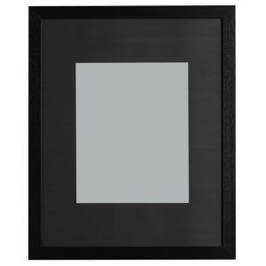 View Black Wood Picture Frame (H) 52.7cm x (W)42.7cm details