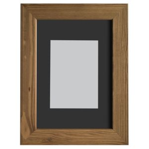 View Oak Effect Wood Picture Frame (H) 32.7cm x (W)23.7cm details