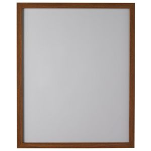 View Walnut Effect Wood Picture Frame (H) 52.7cm x (W)42.7cm details