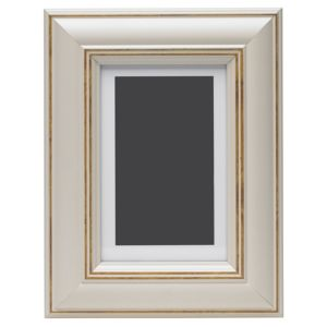 View Cream Wood Picture Frame (H) 22cm x (W)17cm details