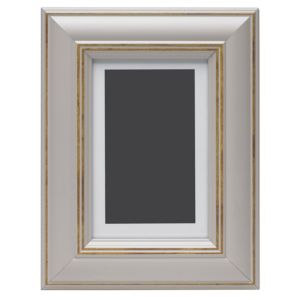 View Taupe Wood Picture Frame (H) 22cm x (W)17cm details