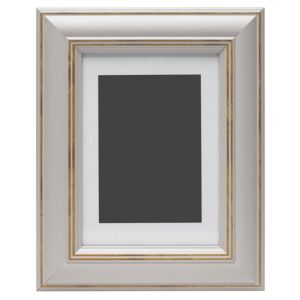 View Taupe Wood Picture Frame (H) 27cm x (W)22cm details