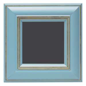 View Blue Wood Picture Frame (H) 17cm x (W)17cm details