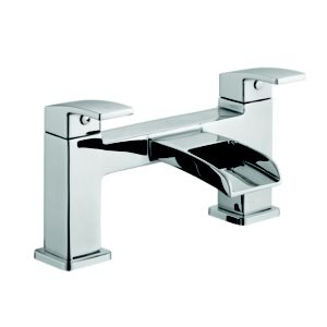 View Cooke & Lewis Cascade Chrome Bath Mixer Tap details