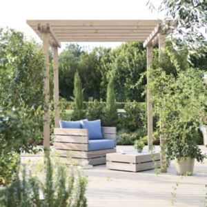 View Blooma Rafter Wooden Pergola - Assembly Required details