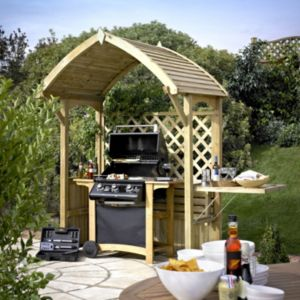 View Barmouth Wooden Arbour - Assembly Required details