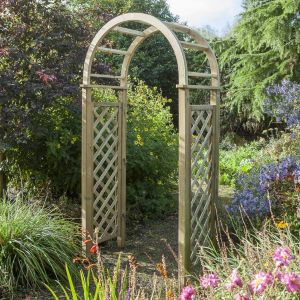View Chiltern Wooden Round Top Arch - Assembly Required details