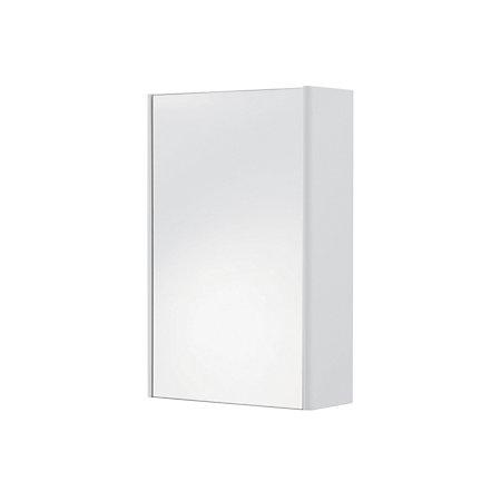 cooke lewis tobique single door white mirror cabinet departments