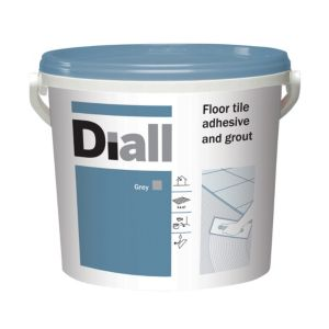 View Diall Floor Adhesive & Grout, 14.6 kg details