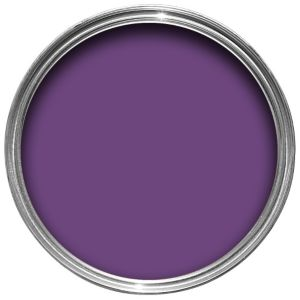 View Colours Premium Any Room Purple Silk Emulsion Paint 2.5L details
