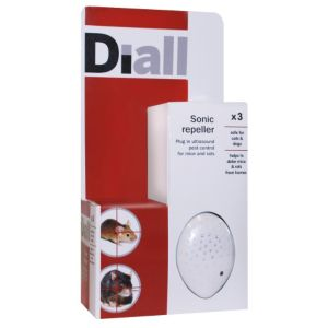 View Diall Sonic Repeller Mouse & Rat Control 304G details