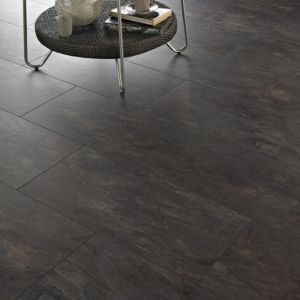 View Colours Intermezzo Sicilian Slate Tile Effect Laminate Flooring details