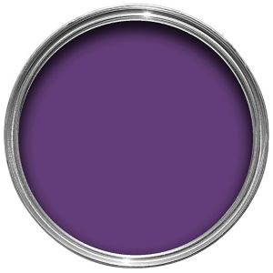 View Colours Quick Dry Violet Imperial Satin Emulsion Paint 750ml details
