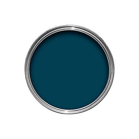Colours Interior Exterior Marine Blue Gloss Wood Metal Paint 750ml Departments Diy At B Q