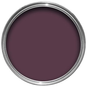 View Colours Quick Dry Exterior Dark Plum Gloss Paint 750ml details