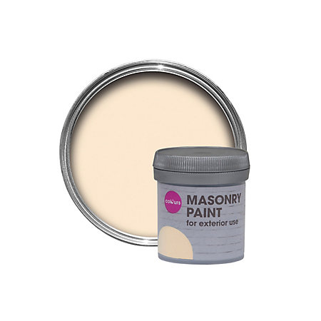 colours mpp magnolia smooth matt masonry paint