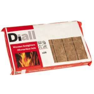 View Diall Wooden Firelighters Pack details