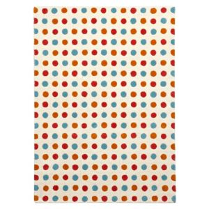 View Colours Cleo Multicolour Spot Rug (L)1.7m (W)1.2m details