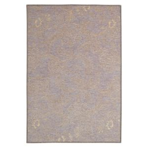 View Colours Esther Grey & Pink Floral Rug (L)1.7m (W)1.2m details