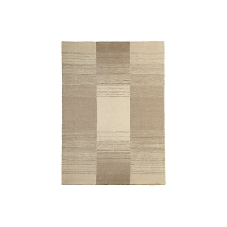 Colours Farrah Cream Grey Striped Rug L 1 7m W 2 M