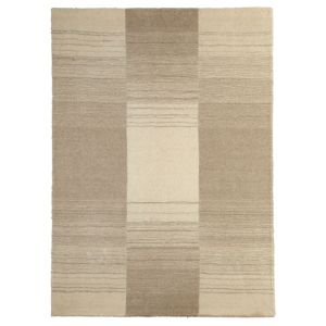 View Colours Farrah Cream & Grey Stripe Rug (L)2.3m (W)1.6m details