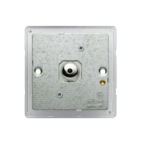 View Colours 1-Gang Chrome Effect Remote Control Dimmer Switch details