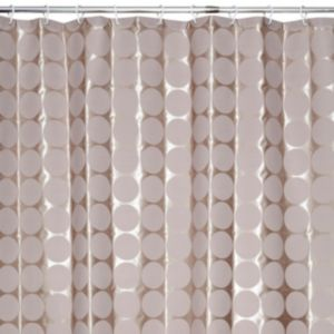 View Cooke & Lewis Taupe Gio Spot Shower Curtain details