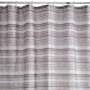 View Cooke & Lewis Grey Agstis Spot Shower Curtain details