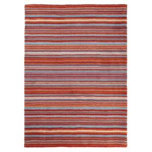 View Colours Beatrice Multicolour Stripe Rug (L)2.3m (W)1.6m details