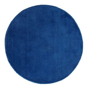 View Colours Silas Blue Rug (L)800mm (W)800mm details