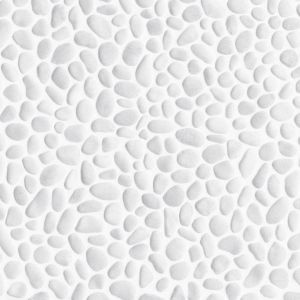 View Colours Domra White Stone Effect Vinyl 4m² Sheet details