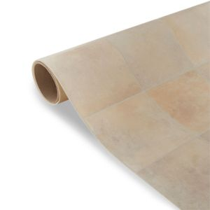 View Colours Kennedy Beige Tile Effect Vinyl 4m² Sheet details