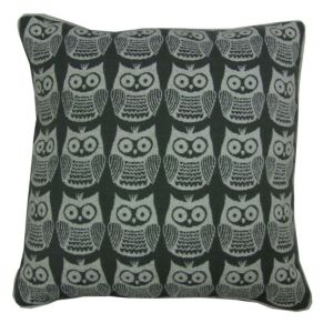 View Taquara Owl Grey Cushion details