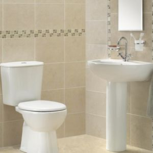 View Cooke & Lewis Treviso Toilet, Basin & Tap Pack details