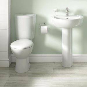 View Cooke & Lewis Alonso Toilet, Basin & Tap Pack details