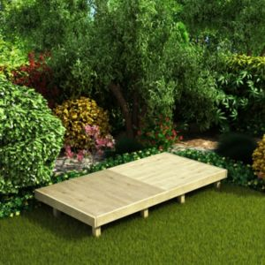 deck easy build softwood modular deck system kit 2