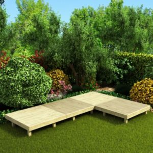 View Deck Kits Easy Build Softwood Modular Deck System, 247569 details