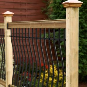 View Deck Kits Contemporary Softwood Balustrade Kit, (L)1820mm Kit details