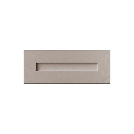 Cooke lewis carisbrooke taupe bridging door w 600mm for Kitchen bridging units 600mm