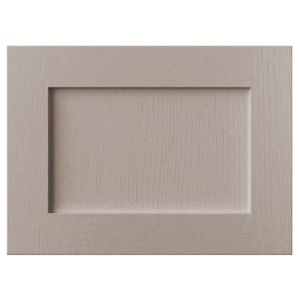 Cooke & Lewis Carisbrooke Taupe Belfast Sink Door (W)600mm