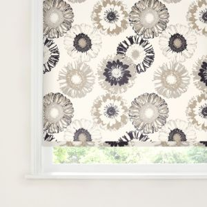 View Colours Kalmia Cordless Brown & White Roller Blind (L)160cm (W)180cm details