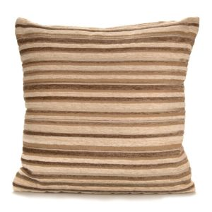 View Sedum Stripe Beige, Brown & Cream Cushion details