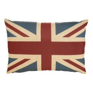View Cynara Union Jack Blue, Red & White Cushion details