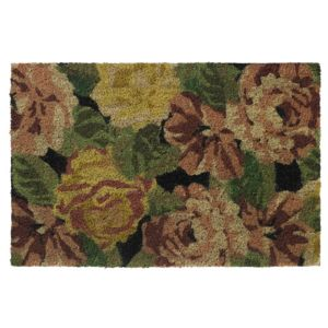 View Colours Abriana Multicolour Floral Coir Door Mat (L)600mm (W)400mm details