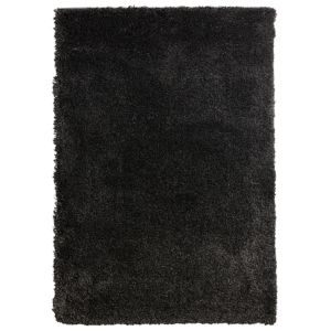 View Colours Noelia Dark Grey Rug (L)1.7m (W)1.2m details